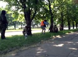 Журналисты «России 24» пожаловались на обстрел в Донецке
