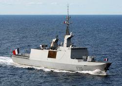 Фрегат ВМС Франции направлен в Черное море