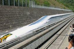 В Японии тестируют сверхскоростной поезд, способный разгоняться до 580 км/ч