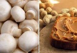 Шампиньоны и арахисовое масло уберегут от рака – ученые