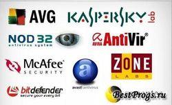 Названы самые популярные антивирусы в Интернете
