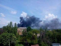 Силы АТО заняли один из четырех районов Луганска – СНБО