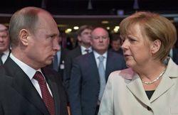 Путин обсудил с Меркель референдум в Крыму и ситуацию на Украине