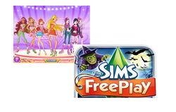 Winx и The Sims названы самыми популярными играми для девочек в Одноклассники
