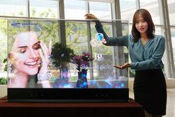 Samsung рассказала о первых прозрачных OLED-панелях