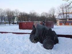 Украина: в Фастове под Киевом снесли памятник Ленину