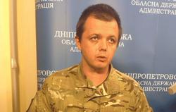 Комбат «Донбасса» Семенченко впервые предстал перед камерами без балаклавы