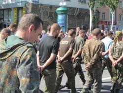 Из плена в Снежном вернутся солдаты в/ч 3056