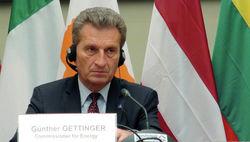 Эттингер думает, что газовый вопрос Украина и РФ решат до конца октября