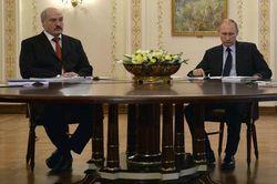 Путин обсудил с Лукашенко воссоединение Крыма с Россией