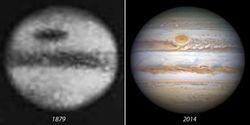 Большое Красное Пятно Юпитера исчезает?
