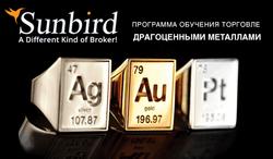 Программу об обучении торговли драгоценными металлами, предложила «SunbirdFX»