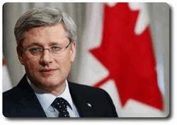 Премьер Канады Стивен Харпер
