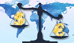 Курс доллара продолжил укрепление к евро на Forex