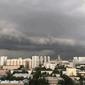 На Москву надвигается тропический ливень