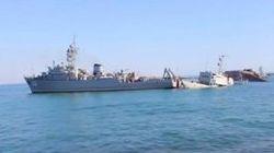 В Севастополе неизвестные напали на корабль «Славутич»