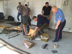 В Дружковке ликвидирован склад оружия и взрывчатки боевиков