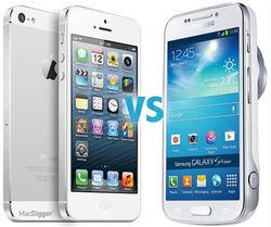 iPhone и Samsung Galaxy S4 стали наиболее популярными смартфонами в Интернете