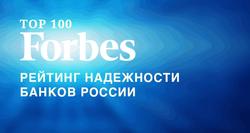Рейтинг ТОП-100 самых надежных банков России