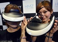 Sony создаст шлем виртуальной реальности для PlayStation 4
