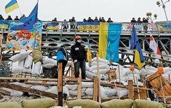 Охрана Майдана избила двух парней, третьего ранила ножом – МВД