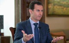 Асад заявил, что гумконвой в Алеппо расстреляли террористы