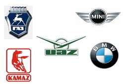23 популярных бренда автомобилей сентября 2014 г. в соцсети «ВКонтакте»
