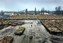 В Артемовске боевики начали ночной штурм танковой части ВСУ