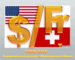 Швейцарский франк снизился к доллару