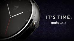 На телевидении засветились Motorola Moto 360
