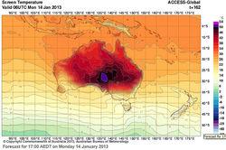 2013 год оказался самым жарким для Австралии за всю историю – выводы