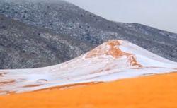 Сахару замело снегом, такого не было 37 лет