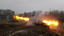 Под Новоазовском на фугасе подорвались ракетчики РФ