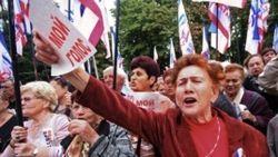 """Пророссийские активисты в Крыму считают Меджлис """"преступной организацией"""""""