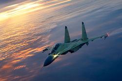 Су-30СМ в полете