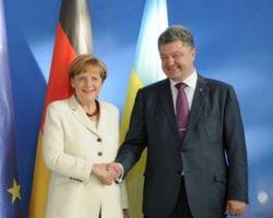 Петр Порошенко обсудил с Меркель вопрос безопасности Украины