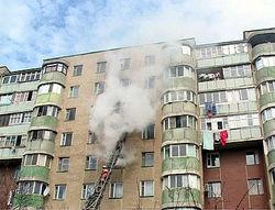 Правоохранители считают, что 24-этажку в Донецке подожгли намеренно