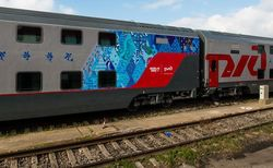 Движение двухэтажных пассажирских поездов стартовало в России