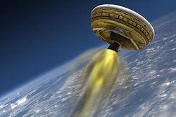 NASA готовится к испытаниям «летающей тарелки» для Марса