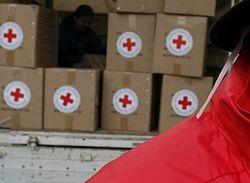 В Донецке пленены сотрудники миссии Красного Креста