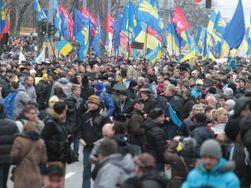 Развертыванию «Марша миллионов» мешают баррикады на Майдане