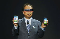 На «живых» фото засветился Samsung Gear VR