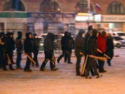 В Харькове титушки пытались разогнать Евромайдан