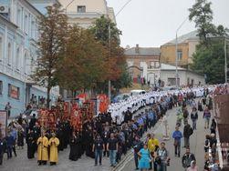Молебен УПЦ МП на Владимирской горке в Киеве прошел без инцидентов