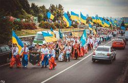 В 2013 году «прорусский» Славянск победил на Всеукраинском параде вышиванок