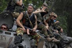 Силы АТО зашли в Чернухино и Хрящеватое