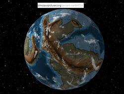 Просто выбери год: в Сети показали формирование материков Земли
