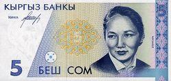 В Кыргызстане начал снижаться курс доллара к сому на Форексе