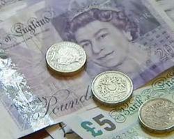Фунт торгуется с понижением к курсу доллара на 0,11% после заседания Банка Англии