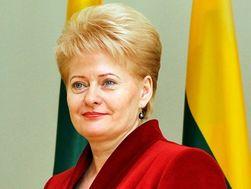 В Украине Далю Грибаускайте наградили премией «Человек года»